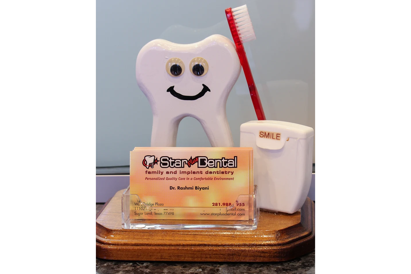 Sugar land tx dentist business cards reheart Image collections